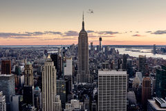 Небоскребы Нью-Йорка стоковые изображения