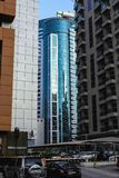 Небоскребы от Дубай, ОАЭ стоковое изображение
