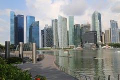Небоскребы Сингапура Стоковые Изображения