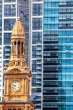 Небоскребы Сиднея, Австралия стоковое фото