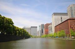 Небоскребы токио Стоковая Фотография