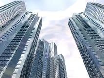 небоскребы Стоковая Фотография RF