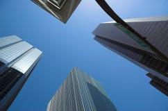 небоскребы стоковые фотографии rf