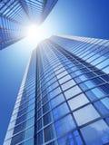 небоскребы Стоковая Фотография