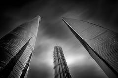 небоскребы стоковое изображение rf