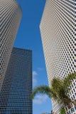 небоскребы azrieli разбивочные Стоковые Изображения