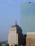 небоскребы boston стоковое изображение