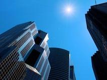 небоскребы chicago Стоковые Изображения