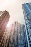 небоскребы chicago Стоковая Фотография