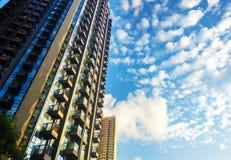 небоскребы Hong Kong стоковые изображения rf