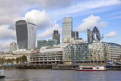 небоскребы london Стоковые Изображения RF