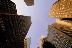 небоскребы manhattan Стоковые Изображения RF
