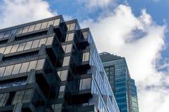 небоскребы montreal Стоковое Фото