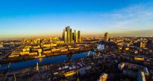 небоскребы moscow Стоковые Фото