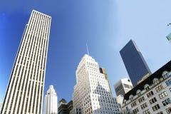 небоскребы nyc Стоковое Фото