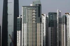 небоскребы shanghai bund Стоковая Фотография