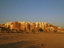 Небоскребы Shibam сумашедшие, Hadramout стоковые фото