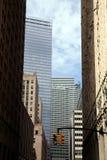 небоскребы york города новые Стоковые Фотографии RF