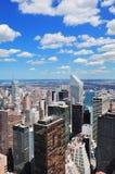 небоскребы york города новые Стоковые Фото