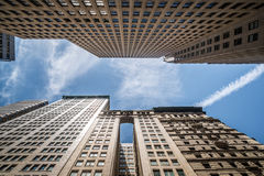 небоскребы york manhattan города новые Стоковая Фотография RF