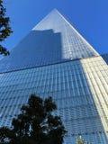 Небоскреб в Нью-Йорке, Стоковая Фотография