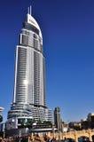 Небоскреб в районе мола Дубай. Стоковое Изображение RF