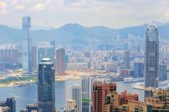 Небоскреб Гонконга стоковое фото rf