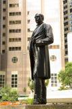 Небоскреб горизонта финансового центра квадрата статуи господина Томаса Джексона Гонконга центральный Стоковое фото RF