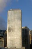 Небоскреб горизонта финансового центра дома IFC Гонконга Admirlty Jardine центральный Стоковые Изображения