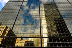 Небоскреб городской Монреаль стоковое фото