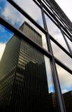 Небоскреб городской Монреаль стоковое фото rf