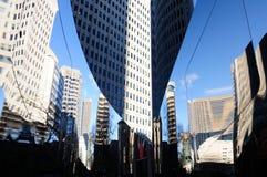 Небоскреб городской Монреаль стоковые изображения rf