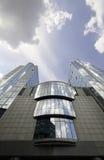 небоскреб Европейского парламента Бельгии brussels Стоковые Фото