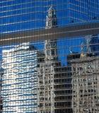 небоскреб зеркала Стоковое Изображение