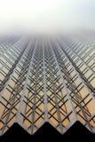 небоскреб золота тумана Стоковые Фото
