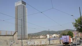 Небоскреб зоны Пьемонта конструировал Massimiliano Fuksas видеоматериал