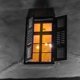 Небоскреб и традиционный стиль старой и новой архитектуры современный Стоковое Фото