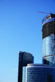 небоскреб конструкции Стоковое Фото