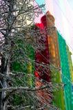 Небоскреб Монреаль отражения стоковая фотография