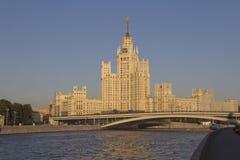 Небоскреб Москвы стоковые фото