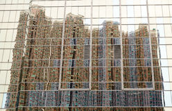 Небоскреб на небоскребе Стоковые Фото