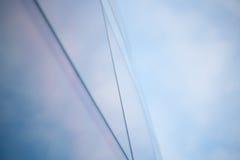 Небоскреб неба офиса окон города Стоковые Изображения