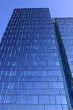небоскреб неба prague синего стекла Стоковые Изображения