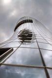 Небоскреб стекла и металла самомоднейше Стоковое Изображение