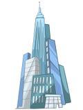 небоскреб шаржа Стоковое Изображение