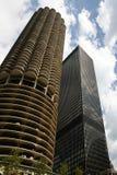 небоскреб 2 chicago Стоковые Фотографии RF