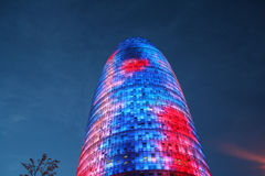 небоскреб barcelona Стоковая Фотография RF