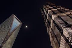 небоскреб shanghai Стоковая Фотография RF