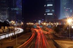небоскреб shanghai Стоковые Изображения RF