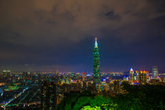 101 небоскреб taipei Стоковое Фото